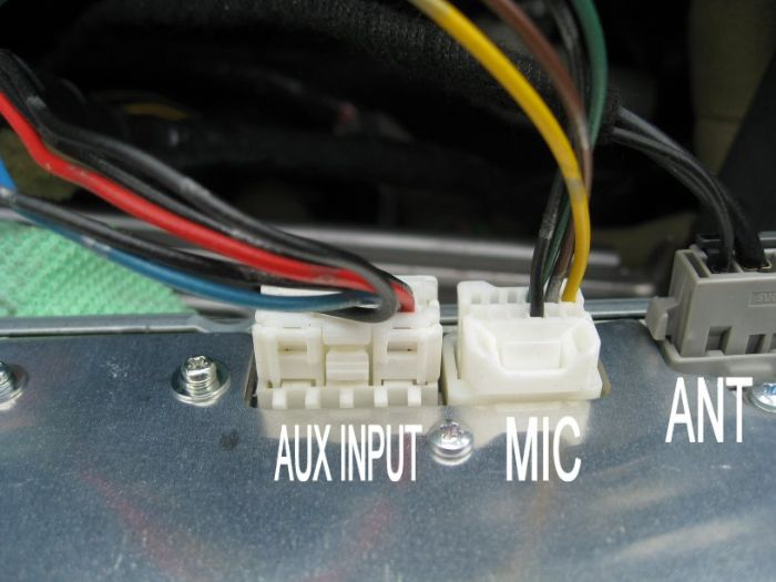 Nissan Connect Microphone Adapter Wiring
