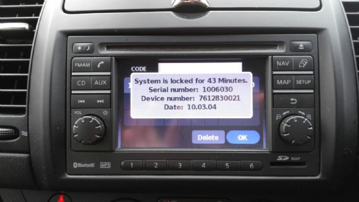 Blue Tooth Pin Code Problem In Nissan Note 2010 Nissan Note Owners